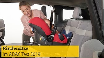 Kindersitztest Herbst   ADAC 2019