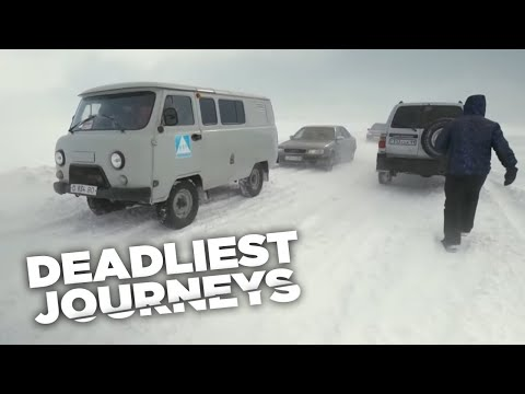 Deadliest Journeys - Kazakhstan: Danger in the Steppe