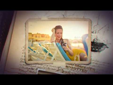 vintage travel journal after effects template from videohive youtube