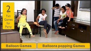 2 Balloon games    Balloon popping games   balloon burst games (2019)