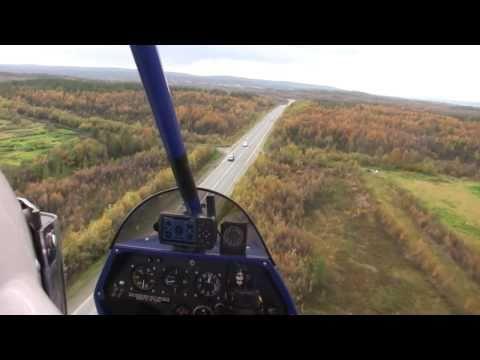 Aeros Красивый полёт на дельталёте/Flying on ultralight trike