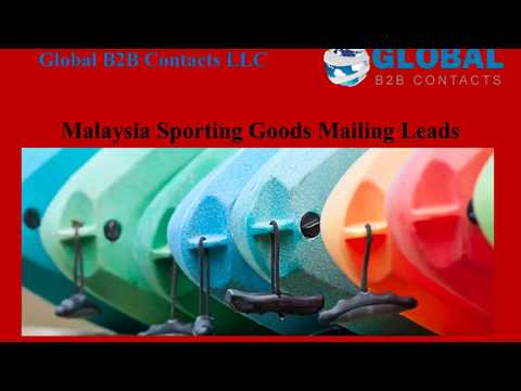 Malaysia Sporting Goods Mailing Leads