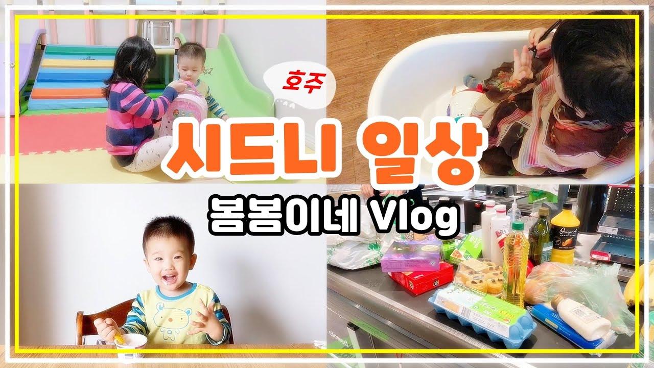 시드니 브이로그❤ 육아 일상) 집밥하고 장보고 머리 자르는 엄마의 하루