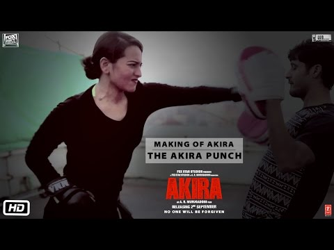 Akira | Making of Akira - The Akira Punch | Sonakshi Sinha | A.R. Murugadoss | 2nd Sept 2016