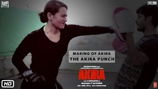 Sonakshi Sinha spared no punches during the shooting of Akira . Wat...