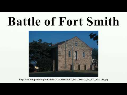 Battle of Fort Smith