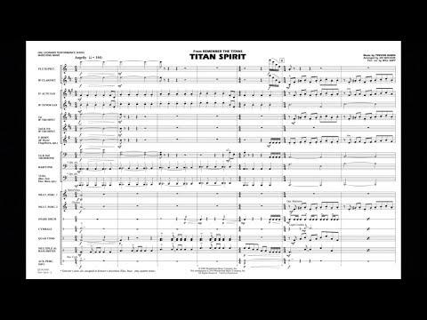Titan Spirit (Theme from Remember the Titans) by Trevor Rabin/arr. Jay Bocook