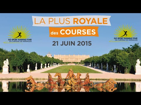Go Sport Running Tour du Château de Versailles 2015