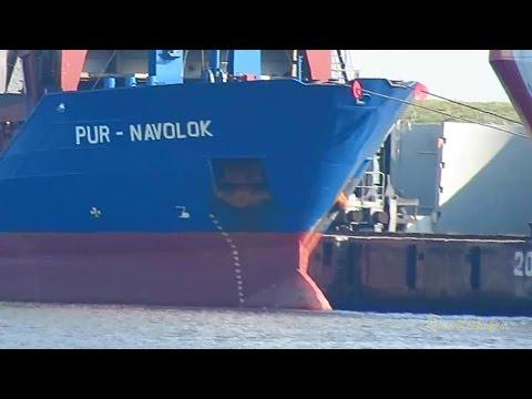 coaster PUR NAVOLOK P3TW7 IMO 9173513 Emden merchant vessel cargo seaship KüMo