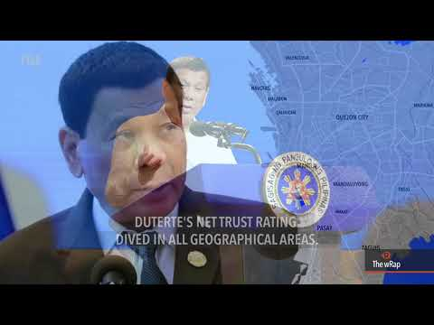 Public trust in Duterte falls in first quarter of 2018 – SWS