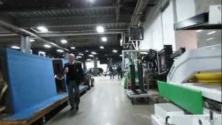Bruins Game at TD Garden - Behind the Scenes view during the game 3/25/13