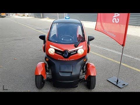Le SDIS du Nord vaudois réceptionne 2 nouveaux véhicules dont un électrique