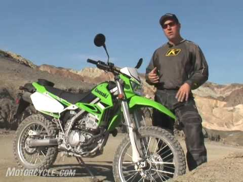 2009 Kawasaki KLX250S Motorcycle Review - YouTube