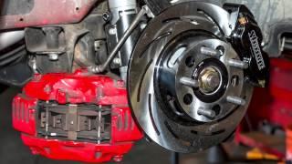 Alex Rogeo talks on Strange Engineering Drag Pak Brakes