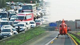 Feuerwehr geht gegen Rettungsgassenblockierer vor