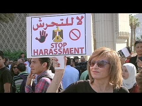 Rape victims rally against Egypt's inaction on sexual violence