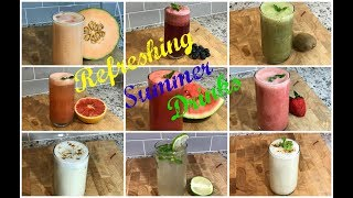 SUMMER SPECIAL | Refreshing Summer Drinks | Summer Drinks Recipes |  Fresh Fruit Drinks | Mocktails