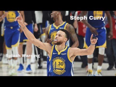 "Stephen Curry- ""Splash Warning"" 🌊"