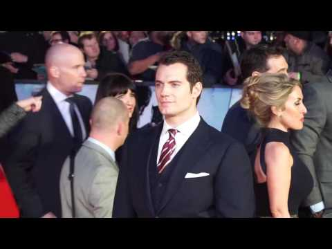 Celebrities Attend The Batman V Superman: Dawn of Justice Premiere In London