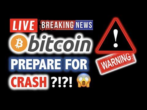 BITCOIN 💥PREPARE FOR CRASH? *WARNING* 💥❗️ LIVE Crypto Analysis TA & BTC Cryptocurrency Price News