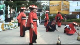2011年10月16日 ならしの茜音フェスティバル 出演9組目 よさこい元気舞...