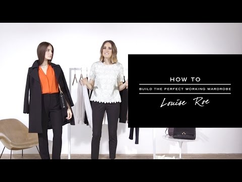 HOW TO: Build The Perfect Working Wardrobe - REISS