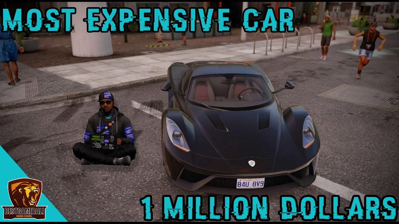 Watch Dogs 2 Most Expensive Car