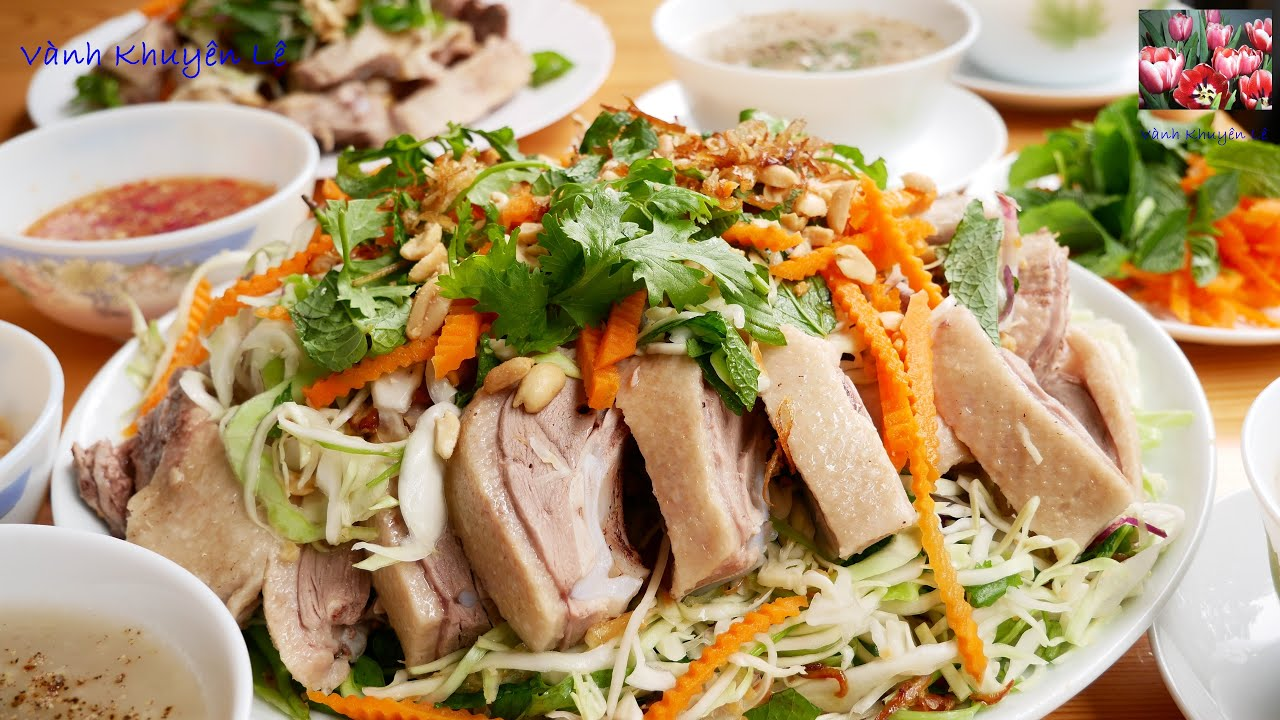 CHÁO VỊT Thanh Đa – Bí quyết luộc Vịt, Pha nước Mắm Gừng, làm Gỏi, nấu CHÁO VỊT by Vanh Khuyen