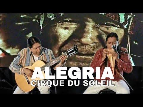 ALEGRIA CIRQUE DU SOLEIL   FLUTE AND GUITAR INSTRUMENTAL VERSION