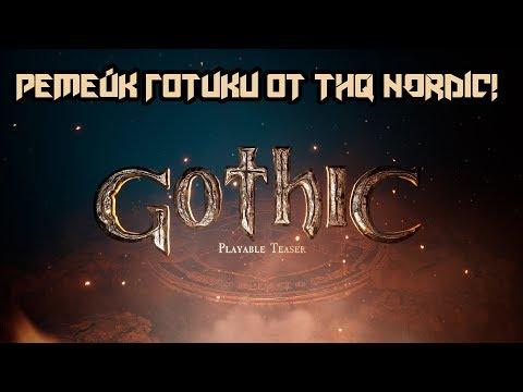Gothic 1 Remake Playable Teaser - Премьера! Играбельный Тизер Ремейка Готики!