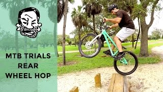 MTB Trials - How to Rear Wheel Hop