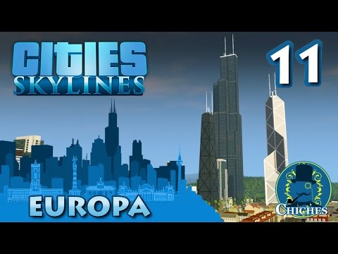 Cities Skylines - Europa - Universidad Completa #11 en español