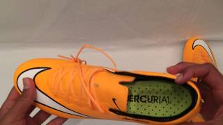 Nike Mercurial Vapor X- Laser Orange/White/Black/Volt Unboxing