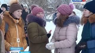 Урок для кинешемских школьников от сотрудников МЧС Сюжет от 21.12.16