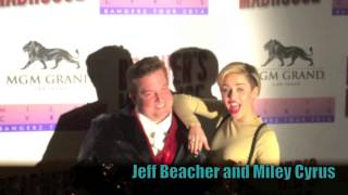 Miley Cyrus unveils Beacher's Madhouse in Las Vegas with Adam Lambert