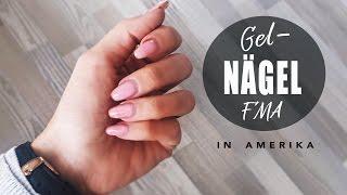 FMA USA | Ich nehme euch mit ins NAGELSTUDIO | lange Gel - Nägel