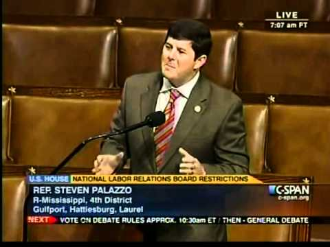 Congressman Palazzo on National Labor Relations Board