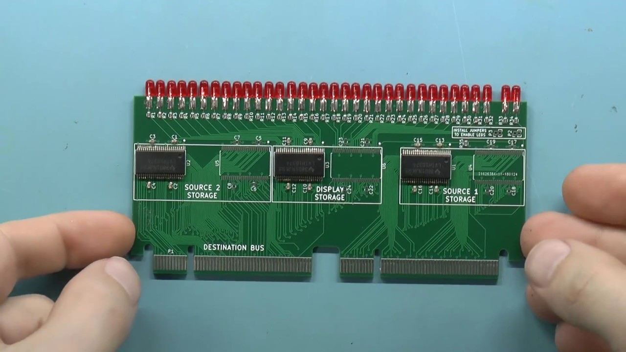 LMARV-1: A RISC-V processor you can see  Part 1: 32-bit registers