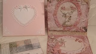 Valentine Easel Card And Envelope Made With Soft Collection From Bildmålarna