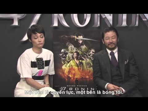 47 Ronin 3D  Tokyo Junket  Phỏng vấn Tadanobu Asano & Rinko Kikuchi