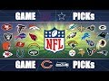 NFL Picks Predicting EVERY GAME: Week 2