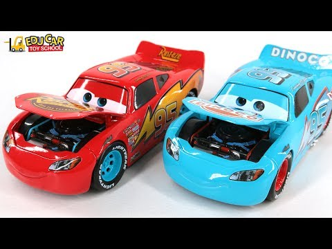 Thumbnail: Learning Color Special Disney Pixar Cars Lightning McQueen Mack Truck Repair car for kids car toys