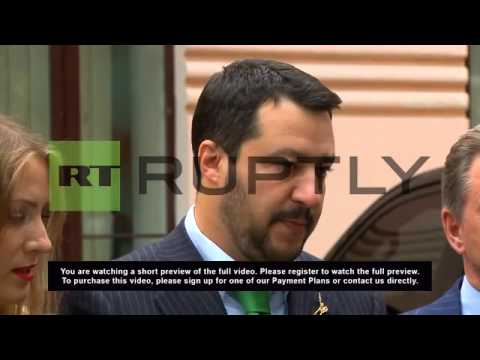 "Russia: ""We don't want sanctions on Russia"" Italian MEP says"