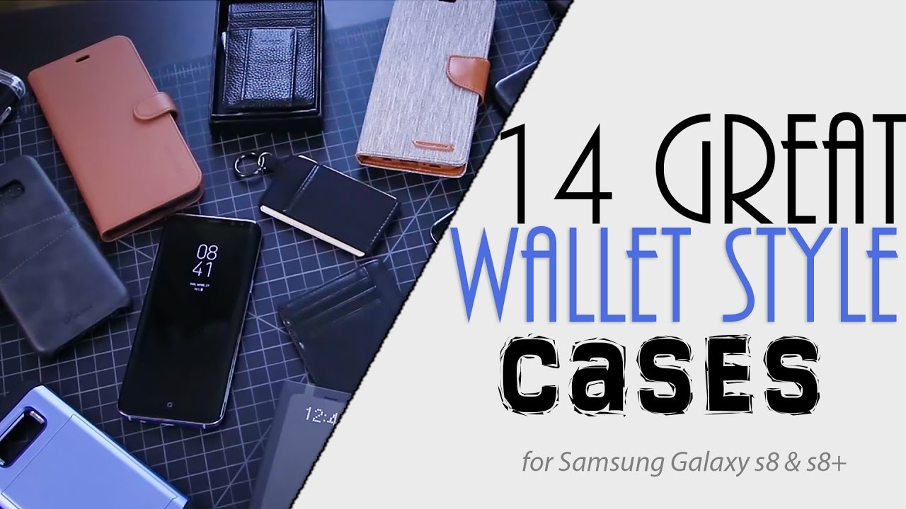 check out 654d0 0cbef 14 Wallet Cases for Samsung Galaxy s8/s8+ | Kindz Wallets