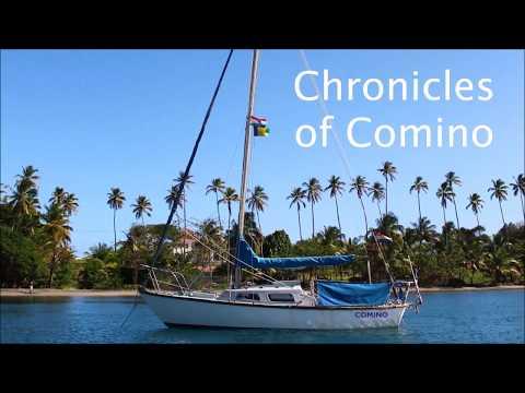 Leaving Panama, Sailing Comino 39