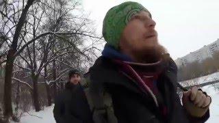 Сталк на Остров Шлюзы, заброс на реке Москва.
