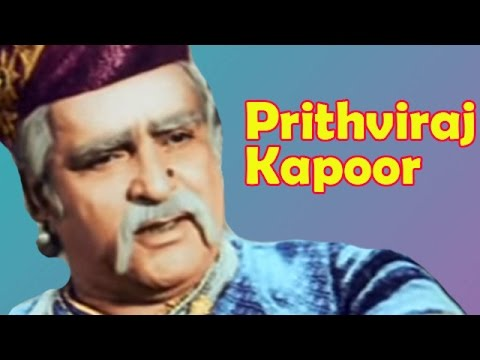 Prithviraj Kapoor - Biography