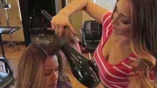 my Signature blowdry video Thumbnail
