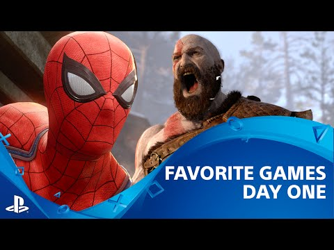 God of War, Spider-Man PS4, Persona 5 and More | Favorite Games From Day 1 - E3 2016