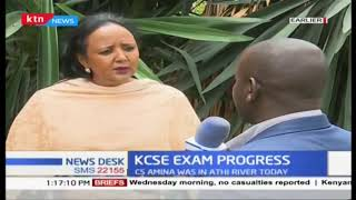 Education CS Amina Mohammed on the credibility and integrity of the examination